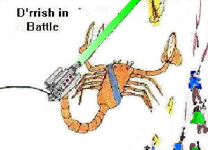 Kazsh-ak Tier in battle. My own drawing.